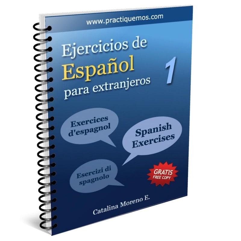 Ejercicios De Español 1 Practiquemos